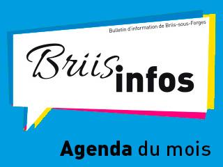PDF de l'agenda du mois