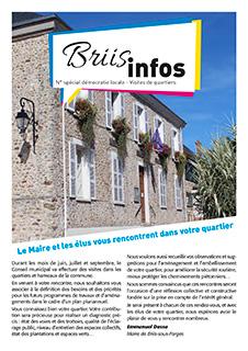 Briis Infos N° spécial démocratie locale - Visites de quartiers