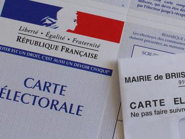 Image de carte électorale