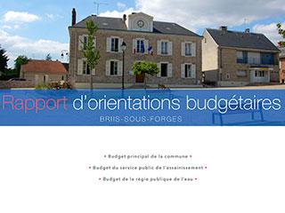 Rapport d'orientations budgétaires